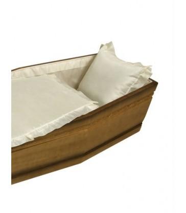 Capiton cercueil TAFFETAS