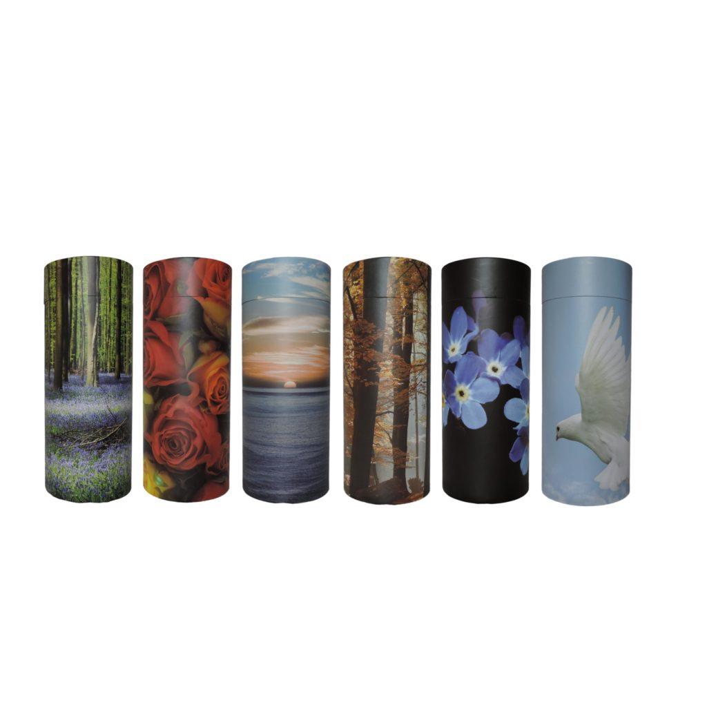 urnes funéraires tubes