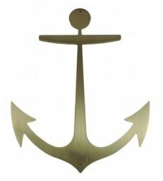 Ancre marine en laiton