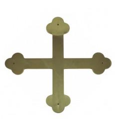Croix grecque en laiton