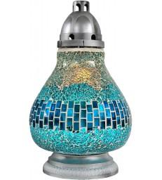 Lanterne funéraire avec mosaïque