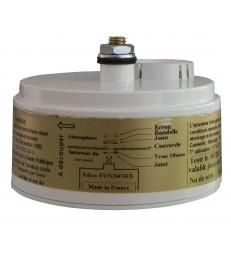 Filtre épurateur pour zinc