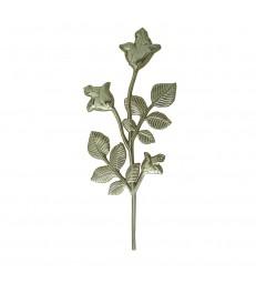 Branche de rosier en ABS