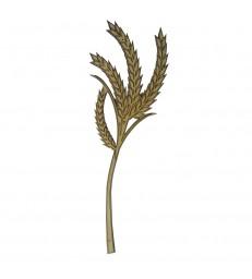 Epi de blé en bois