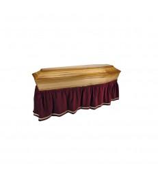 Jupe de cercueil en velours
