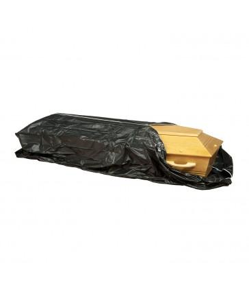 Housse noire exhumation cercueil