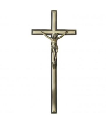 Croix cercueil Zamak «romaine»