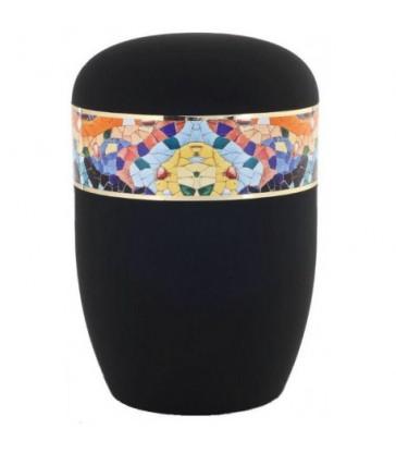 Urne funéraire biodégradable mosaïque Gaudi