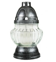 Lanterne 21 cm forme coupole