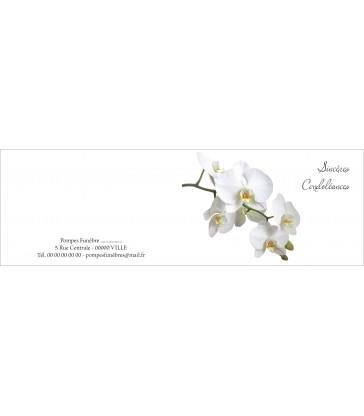 Carte à fleurs