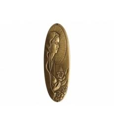 Vierge, Madone, forme ovale