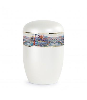 Urne funéraire biodégradable frise Raoul Dufy