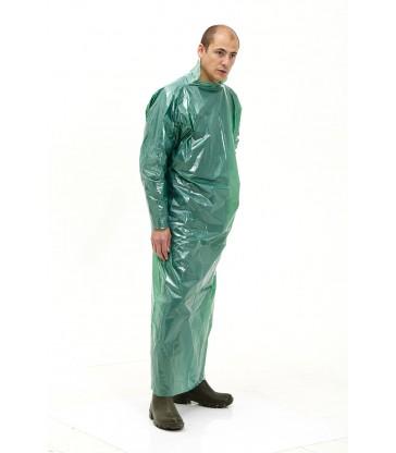 Casaque jetable polyéthylène de protection