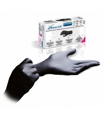 Gants sanitaire nitrile noir