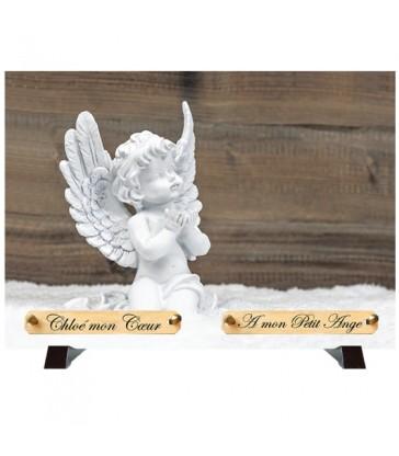 """Plaque Funéraire """"Un ange"""""""