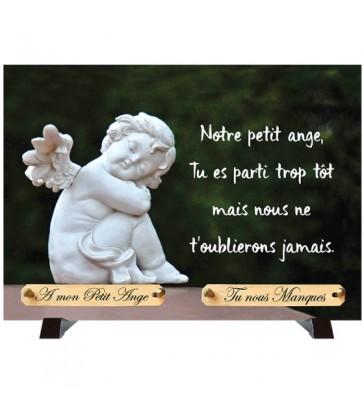 """Plaque Funéraire """"Petit Ange"""""""